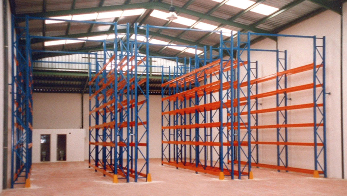 Estanterias metalicas de gran carga para palets paletas - Estanterias para palets ...