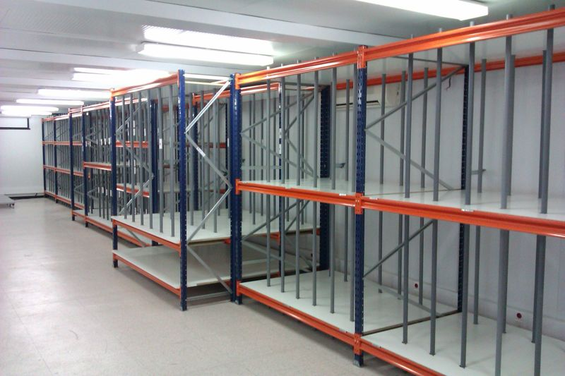 Estanterias para despensas estanterias metalicas para libros estanterias originales brickbox - Estanterias metalicas para casa ...