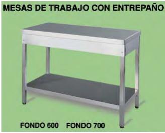 Mesas de trabajo para cocina elegant mesa de trabajo - Mesas de trabajo cocina ...