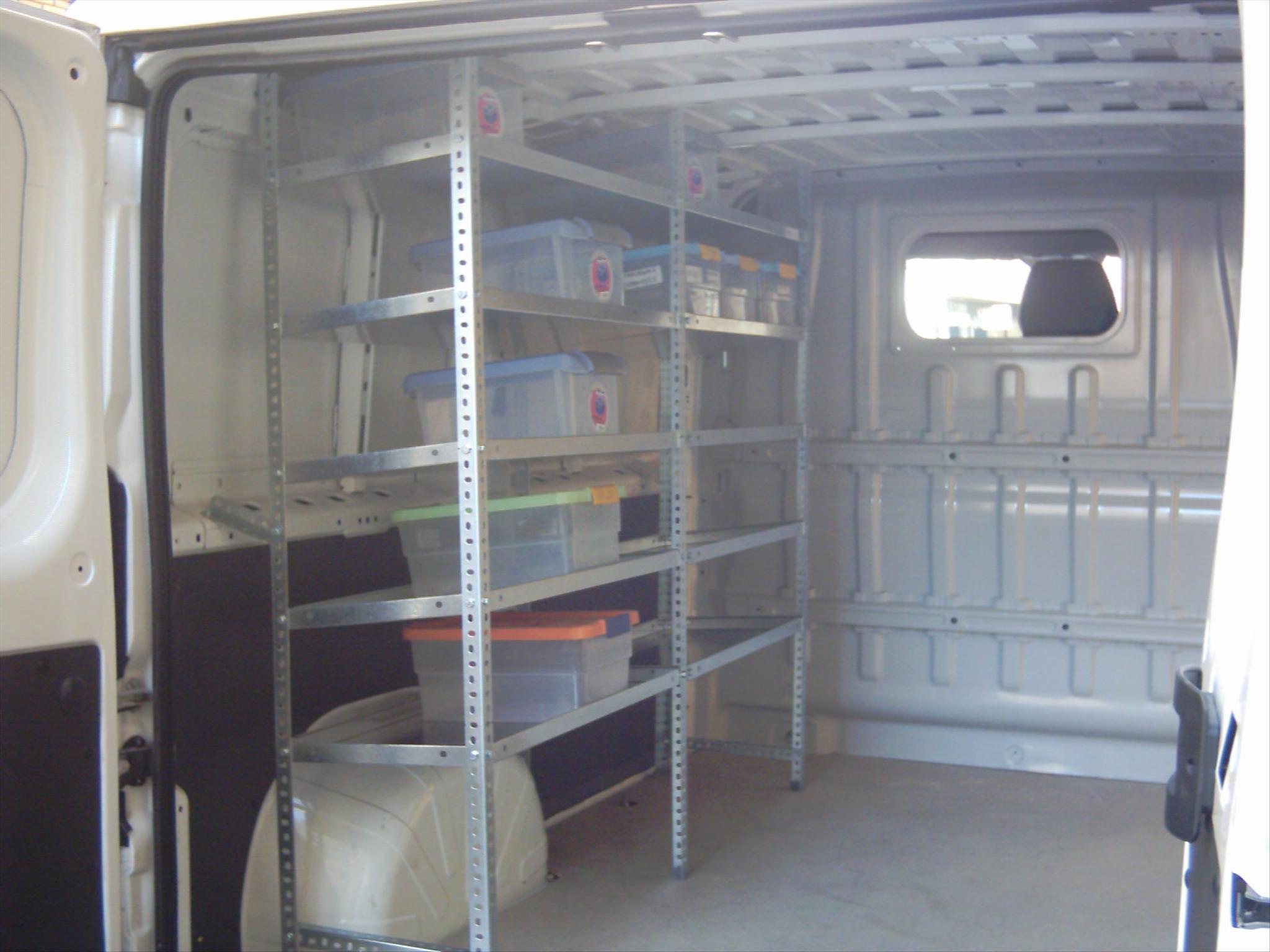 Dise o de estanterias metalicas para furgonetas y - Estanterias metalicas diseno ...