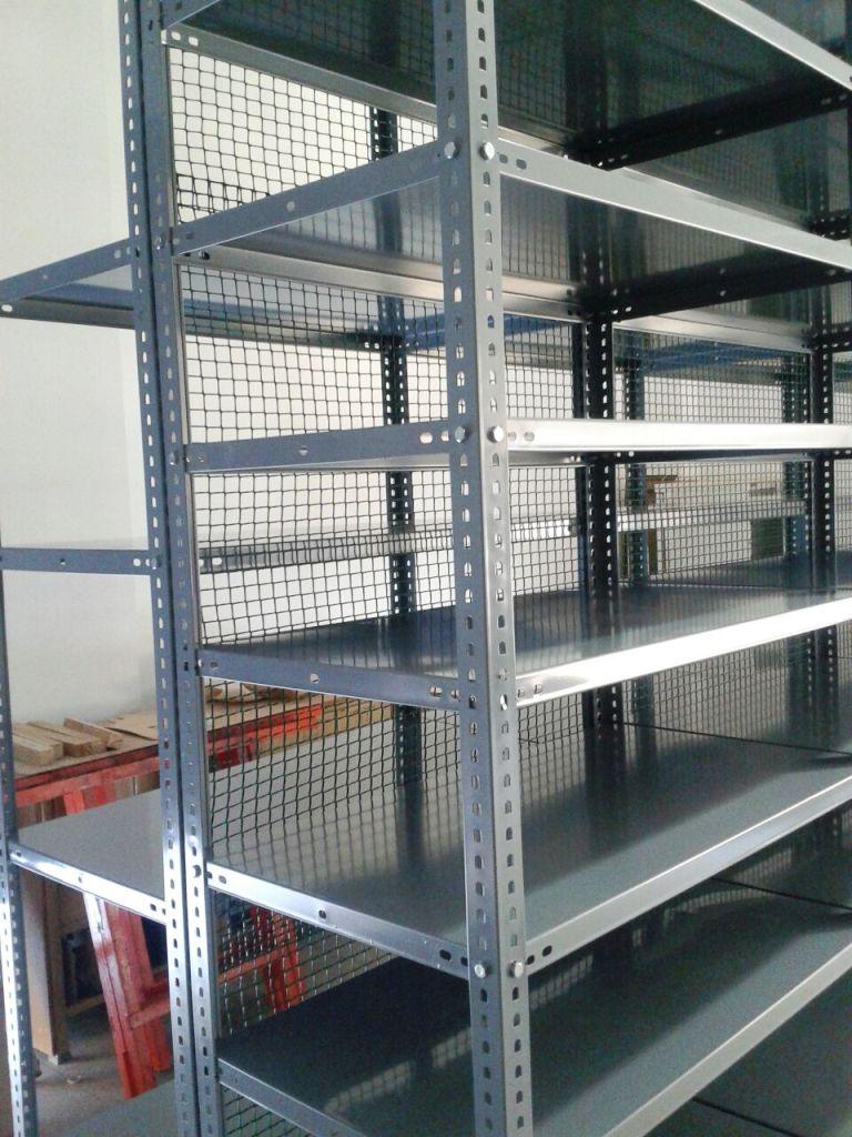Estanterias metalicas CON tornillos y estanterias metalicas SIN ...