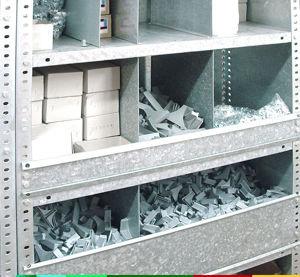 Separadores Para Estanterias Metalicas.Estanterias Metalicas Con Clasificadores Y Estanterias