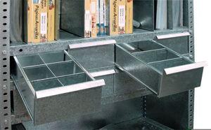 Separadores Para Estanterias Metalicas.Estanterias Metalicas Con Cajones Estanterias Metalicas Esme