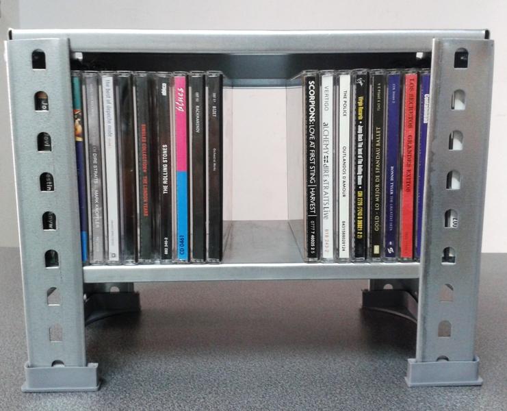 Estanterias metalicas estrechas para cd y estanterias for Estanterias para despensas
