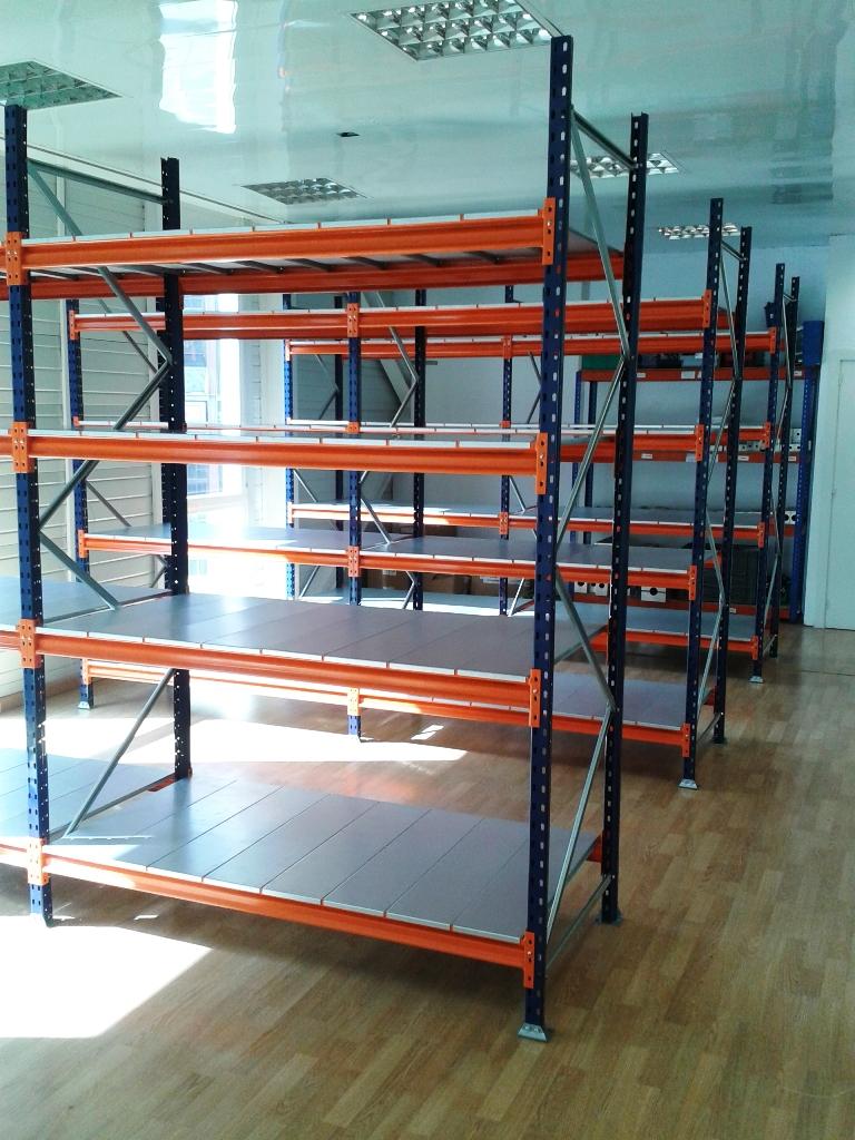Estanterias metalicas de media carga con estante metalico ...