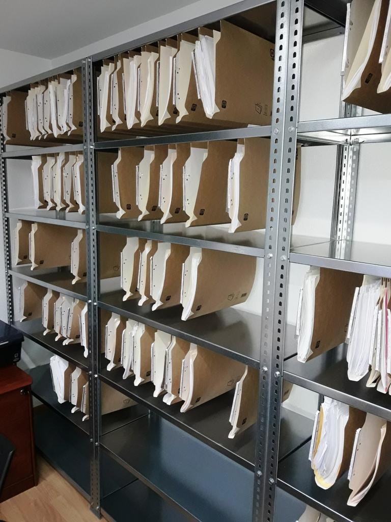 Estanterias metalicas para carpetas colgantes estanterias - Estanterias metalicas de pared ...