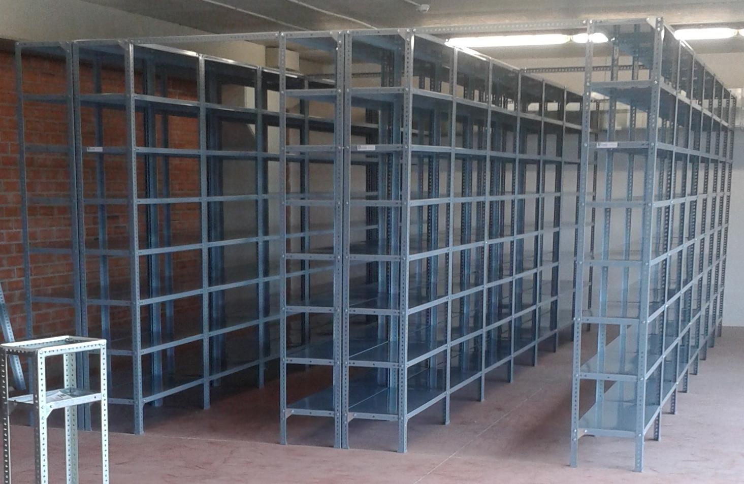 Estanterias metalicas para almacen estanterias met licas - Medidas estanterias metalicas ...
