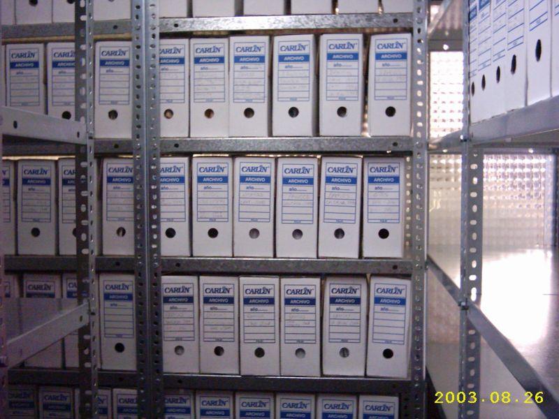 Estantes Para Archivos Oficina.Estanterias Metalicas Para Archivos Y Documentos Estanterias