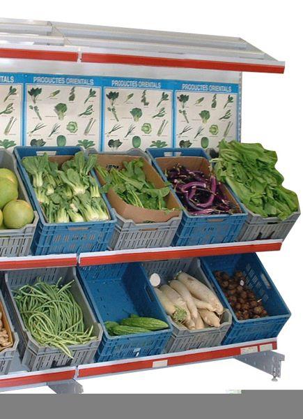 Estanterias metalicas para fruta y verdura estanterias - Estanterias para fruta ...