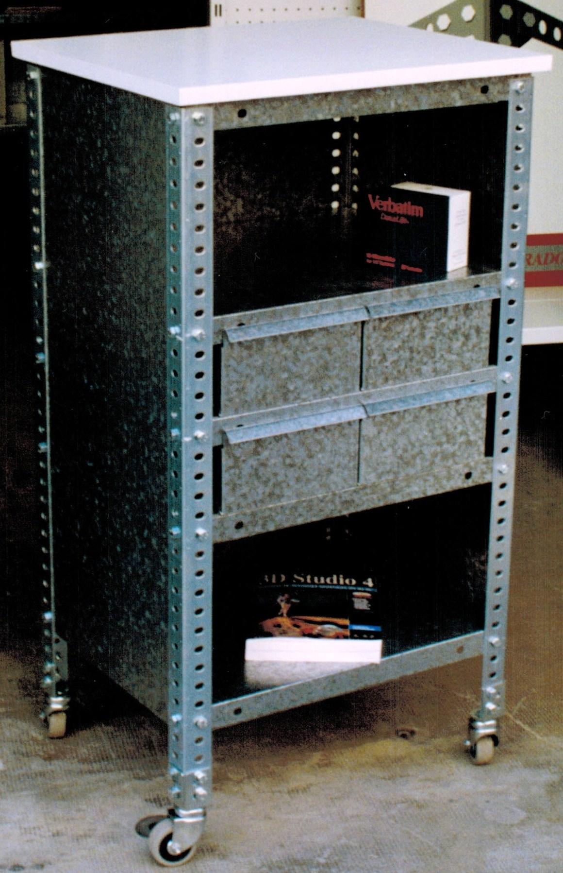 Soportes para racks y ordenadores estanterias met licas esme - Soportes de estanterias ...
